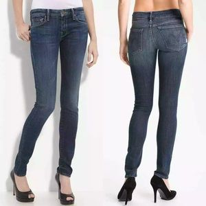 Mother The Looker Skinny Jeans in Here Kitty Kitty